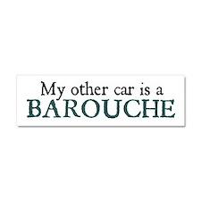 Jane Austen Barouche Car Magnet 10 x 3