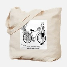 Wrong Type of Carbo Loading Tote Bag