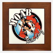 Moab Roller Derby Framed Tile