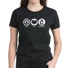 Peace Love Microbiology Tee