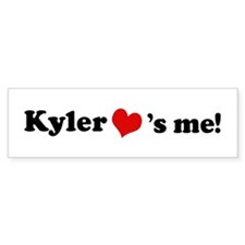Kyler loves me Bumper Bumper Sticker