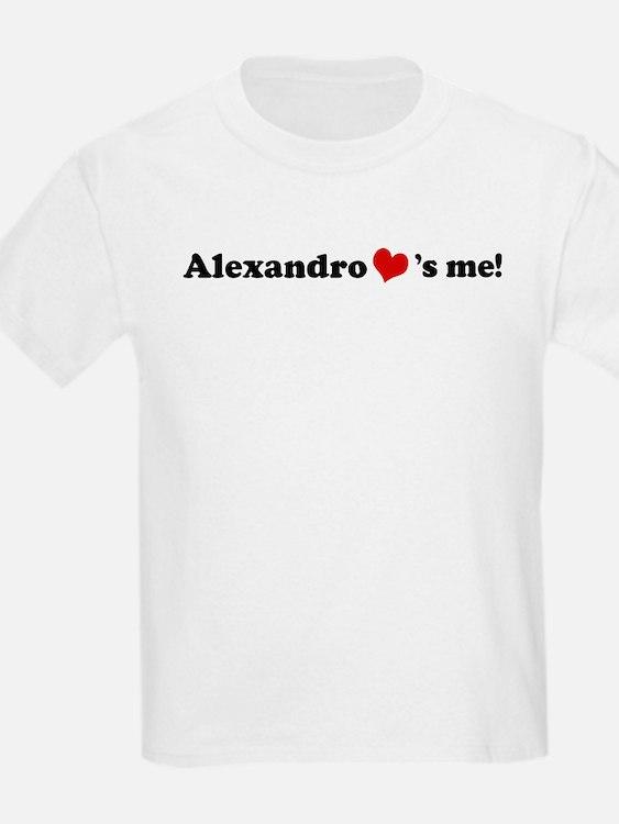 Alexandro loves me Kids T-Shirt