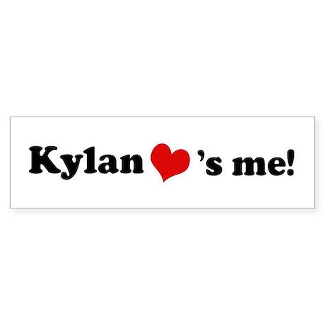 Kylan loves me Bumper Sticker