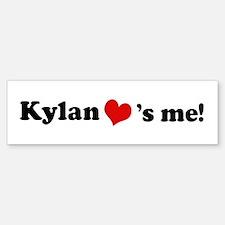 Kylan loves me Bumper Bumper Bumper Sticker