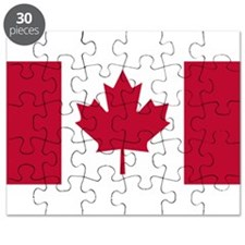 Canadian Flag Puzzle