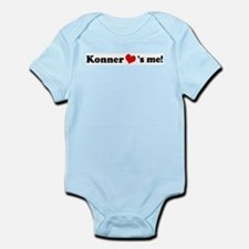 Konner loves me Infant Creeper