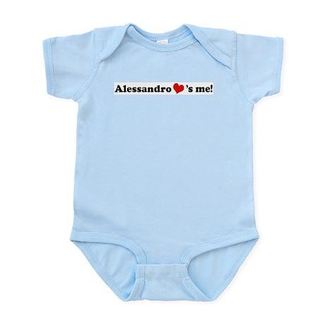 Alessandro loves me Infant Creeper