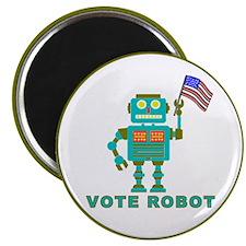 Vote Robot Magnet
