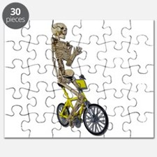 Skeleton on Bicycle Puzzle