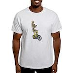 Skeleton on Bicycle Light T-Shirt