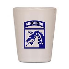 XVIII Airborne Corps Shot Glass