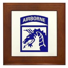 XVIII Airborne Corps Framed Tile