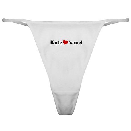 Kole loves me Classic Thong
