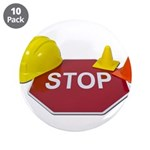 Stop Sign Hard Hat Safety Con 3.5