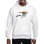 Straight Razor Mug Brush Hooded Sweatshirt