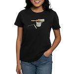 Straight Razor Mug Brush Women's Dark T-Shirt