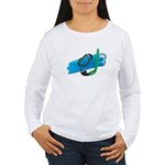 Swimming Goggles Snorkel Fins Women's Long Sleeve