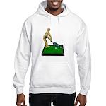 Teeing Off on the Green Hooded Sweatshirt