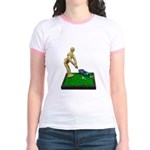 Teeing Off on the Green Jr. Ringer T-Shirt