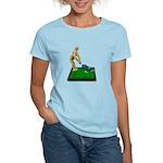 Teeing Off on the Green Women's Light T-Shirt