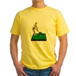 Teeing Off on the Green Yellow T-Shirt