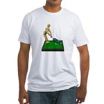 Teeing Off on the Green Fitted T-Shirt