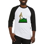 Teeing Off on the Green Baseball Jersey