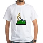Teeing Off on the Green White T-Shirt
