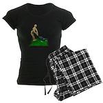 Teeing Off on the Green Women's Dark Pajamas