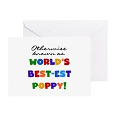 Otherwise Known Best Poppy Greeting Card