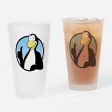 Chili the Penguin Drinking Glass