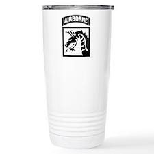 XVIII Airborne Corps B-W Travel Mug