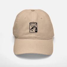 XVIII Airborne Corps B-W Baseball Baseball Cap