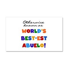 Otherwise Known Best Abuelo Car Magnet 20 x 12