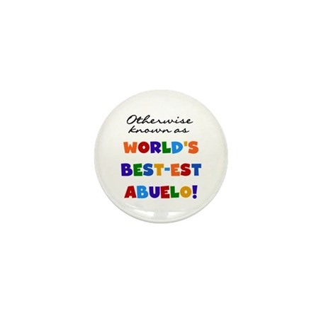 Otherwise Known Best Abuelo Mini Button