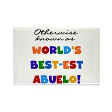 Otherwise Known Best Abuelo Rectangle Magnet