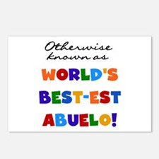 Otherwise Known Best Abuelo Postcards (Package of