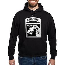 XVIII Airborne Corps B-W Hoodie