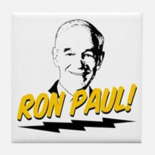 Ron Paul! Tile Coaster