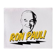 Ron Paul! Throw Blanket
