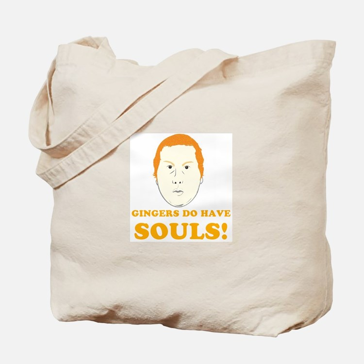 Cute Gingers do have souls Tote Bag