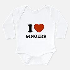 Cute Gingers Long Sleeve Infant Bodysuit