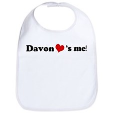 Davon loves me Bib