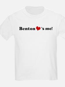 Benton loves me Kids T-Shirt