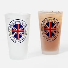 British Sports Car Club Drinking Glass
