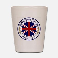 British Sports Car Club Shot Glass