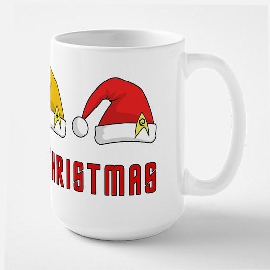 Trekkie Christmas Large Mug