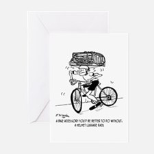 Excessive Bike Accessories Greeting Cards (Pk of 1
