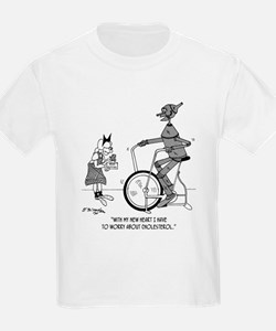 The Tin Man Worries About Cholesterol T-Shirt