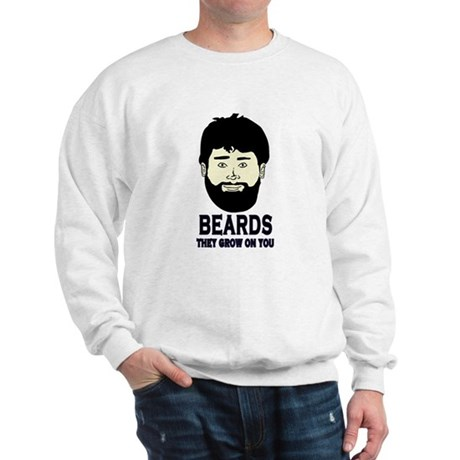 Beard and Sad Face collection Sweatshirt